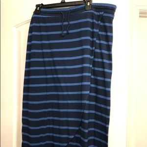 Sonoma Skirts - Sonoma XL maxi skirt in navy and royal blue.